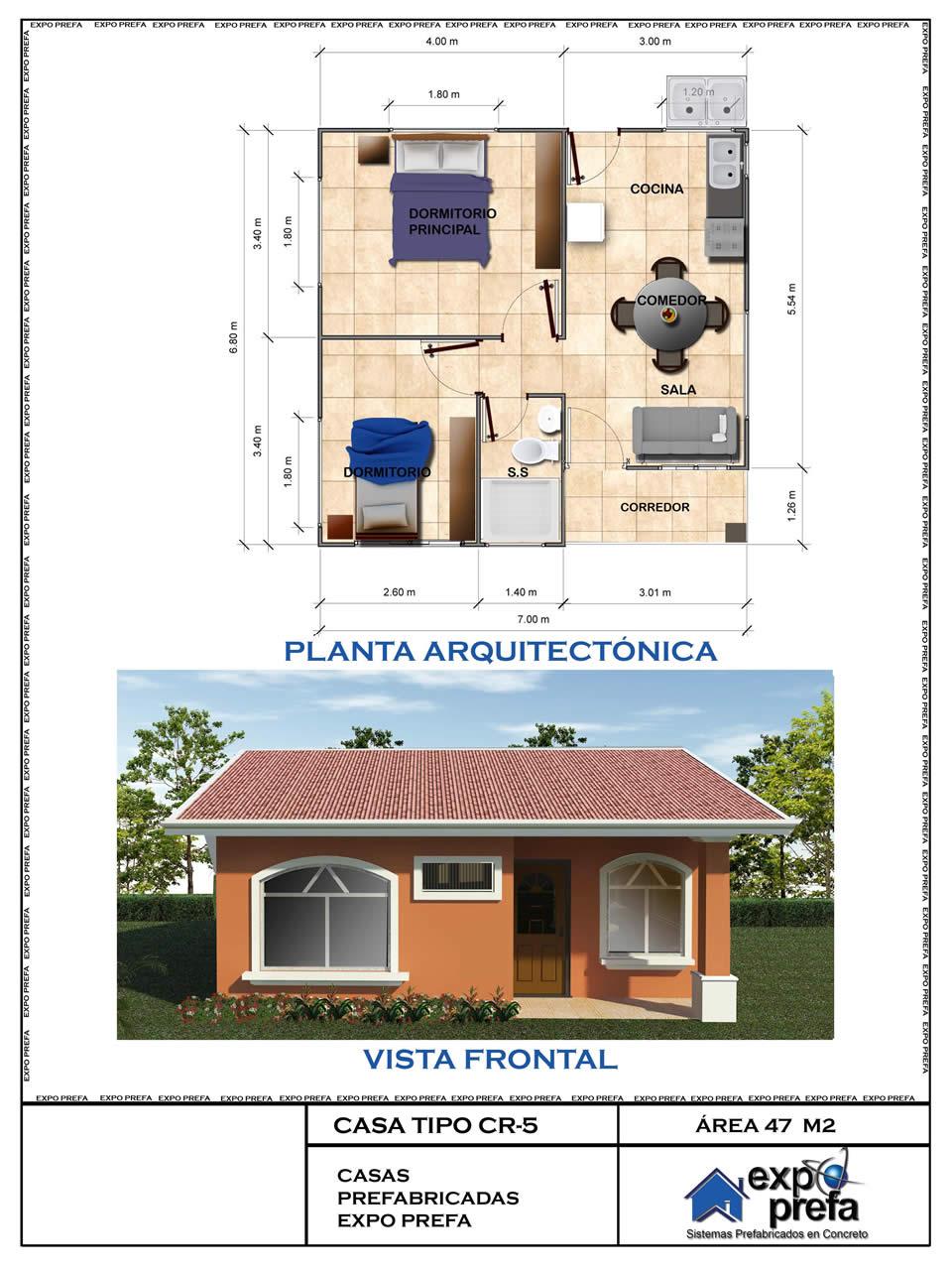 Cat logo de dise os de casas prefabricadas for Casas industrializadas precios y modelos